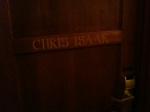 Laura Lee Bahr and I stayed in the Chris Isaak suite